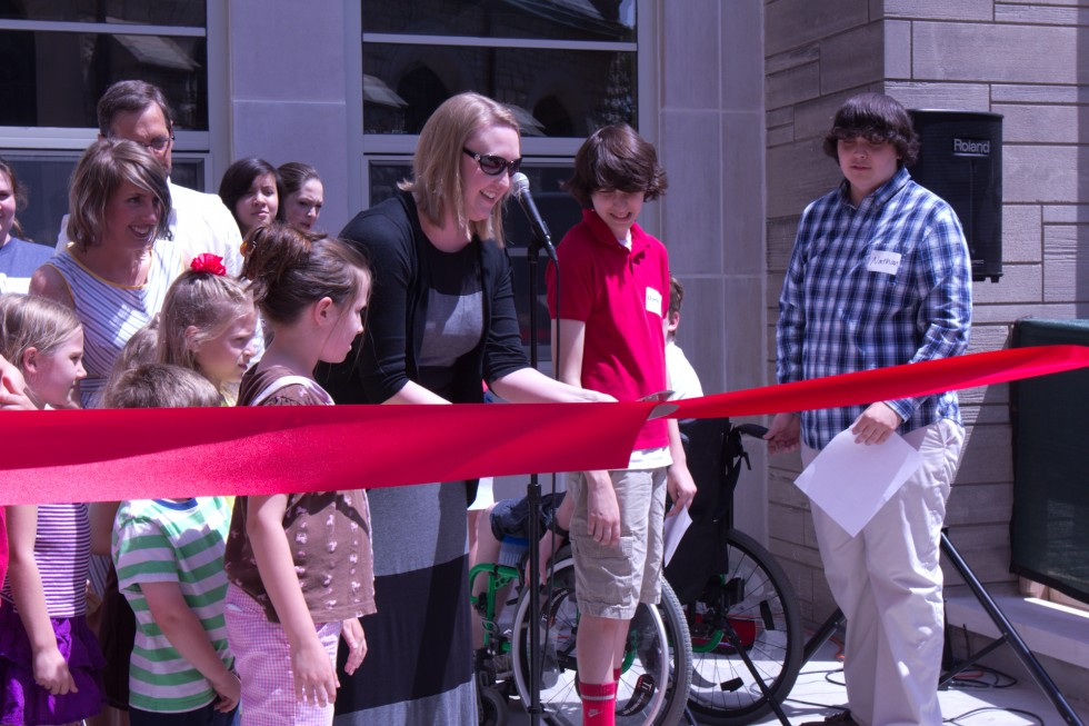 Reveal Ribbon Cutting