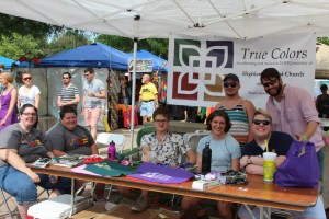 Pride Booth 2014