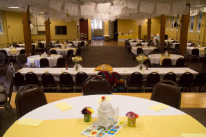 Fellowship Hall Wedding 1