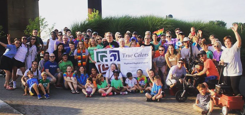 Highland had an amazing diverse group march in the 2018 Pride Parade